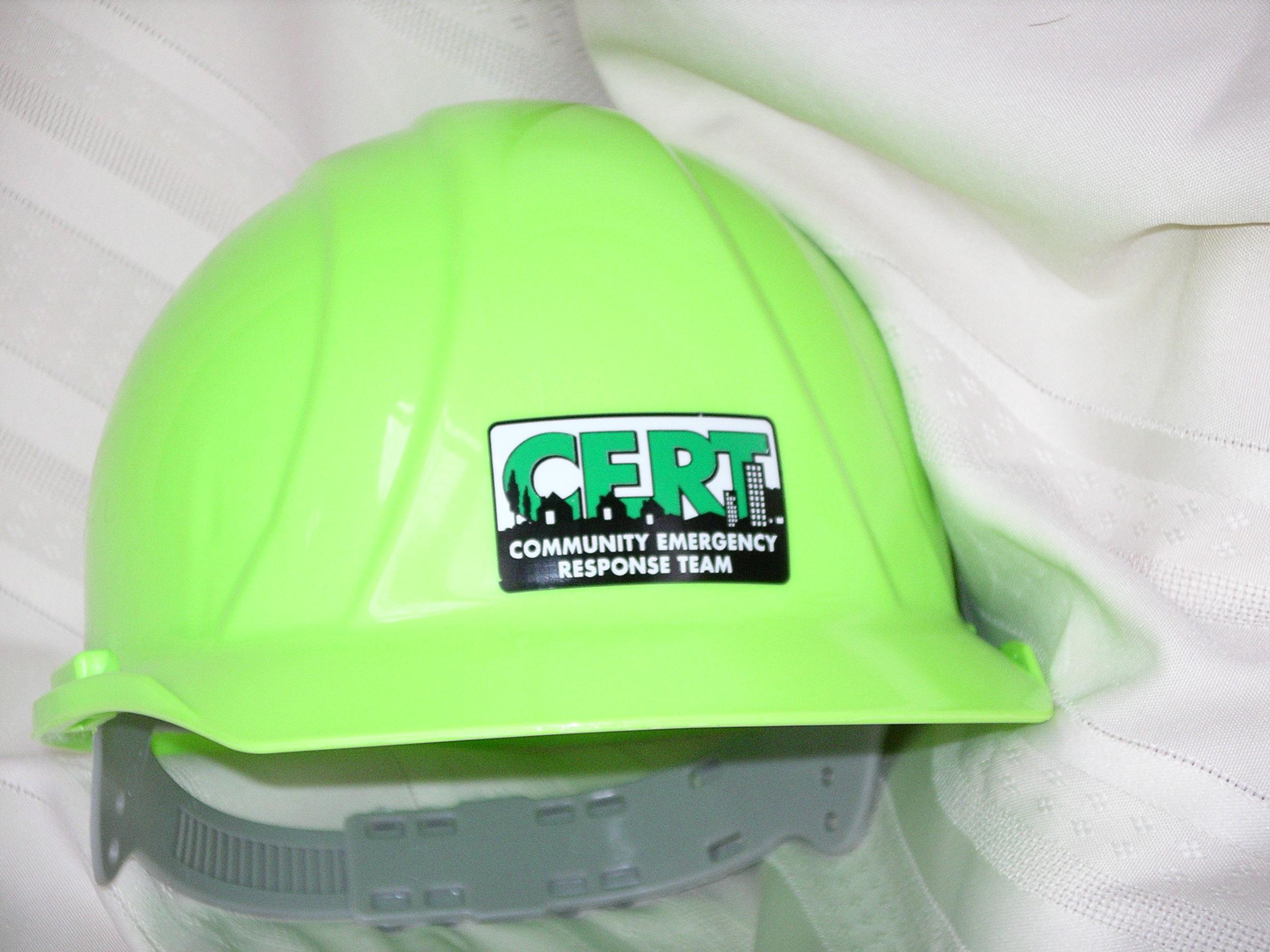 4557be00f5f PrepareSmart - Sharing our Passion for Preparedness CERT Hard Hat ...